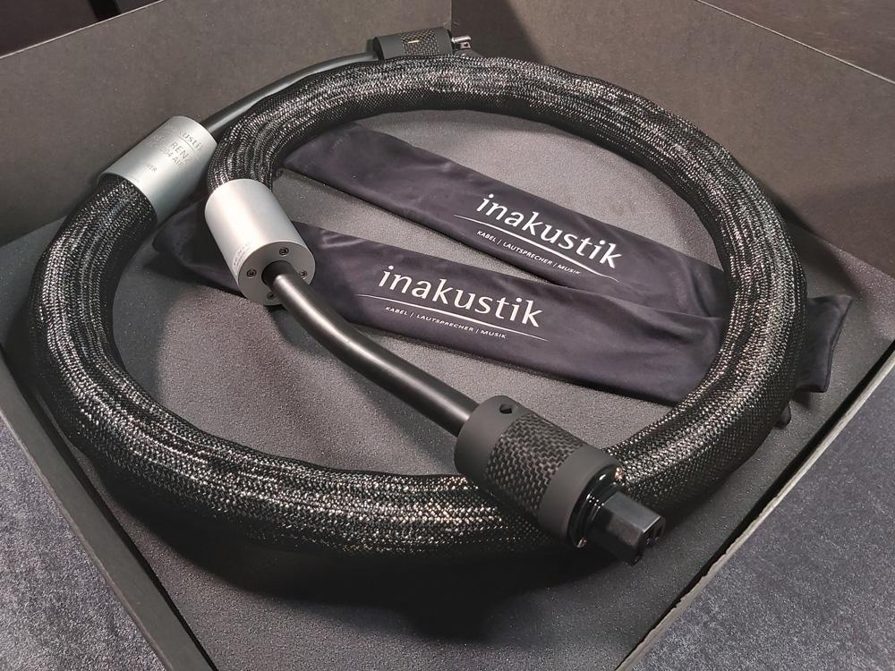 Why choose Inakustik AC-4004 AIR Power cord?