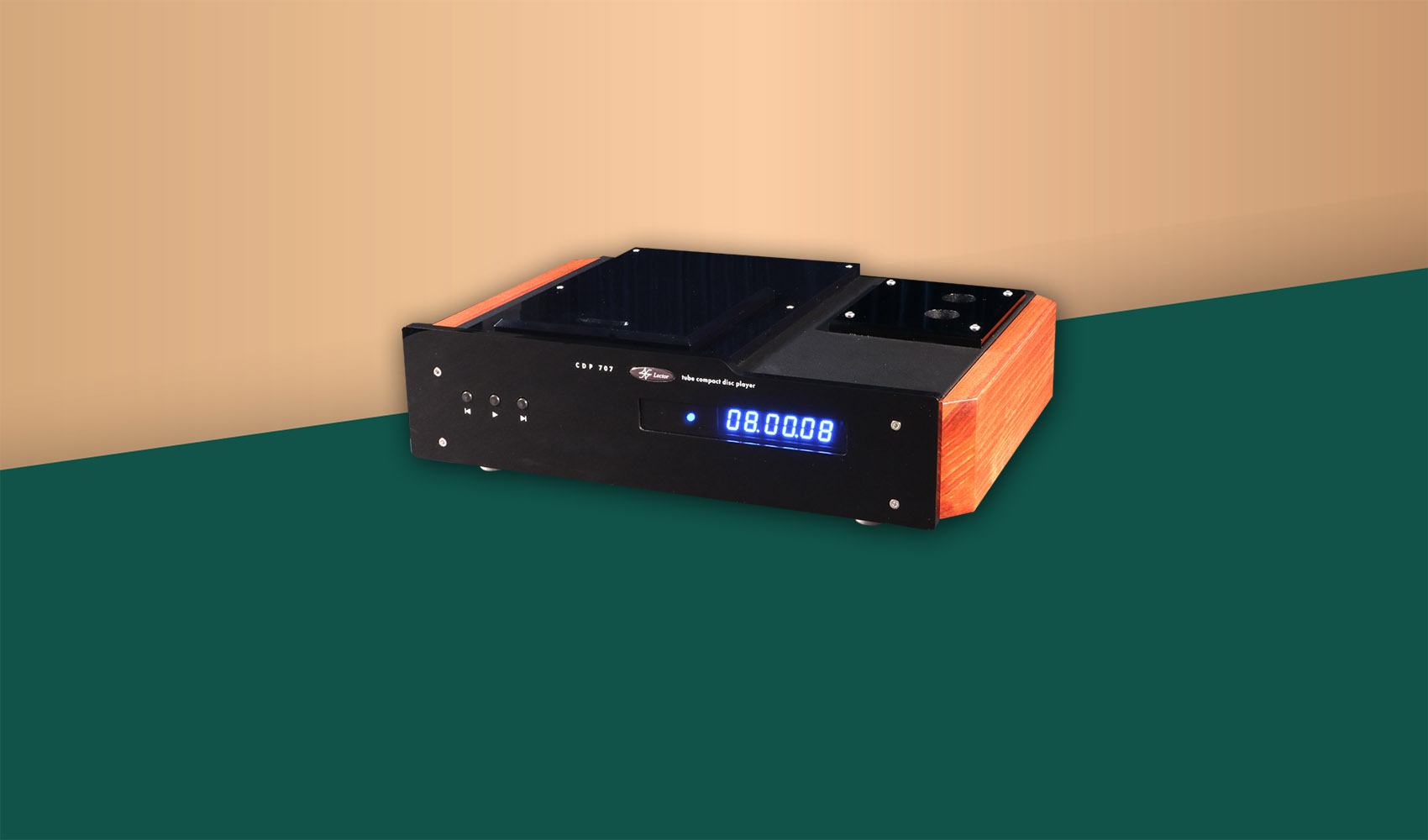 CDP-707 Real Tube Output CD Player